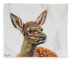 Baby Elk Fleece Blanket