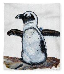 Baby Penguin Fleece Blanket
