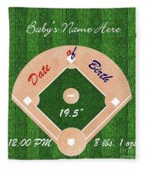 Baby's Commemorative Gift Fleece Blanket