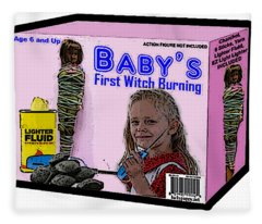 Baby's First Witch Hunt Fleece Blanket