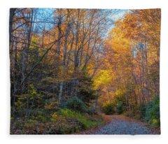Back Road Beauty Fleece Blanket