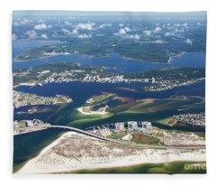 Backwaters 5122-a Fleece Blanket