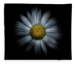 Fleece Blanket featuring the photograph Backyard Flowers 31 Color Flow Version by Brian Carson