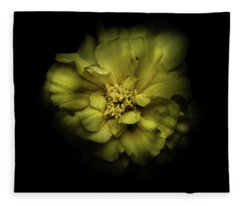 Fleece Blanket featuring the photograph Backyard Flowers 41 Color Version by Brian Carson