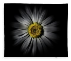 Fleece Blanket featuring the photograph Backyard Flowers 52 Color Flow Version by Brian Carson