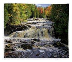 Bad River Cascade Fleece Blanket