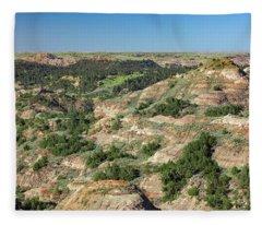 Badlands Valley Fleece Blanket