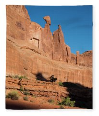 Balance Rock Fleece Blanket