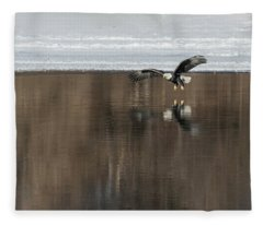 Bald Eagle 2018-15 Fleece Blanket