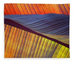 Banana Leaf 8613 Fleece Blanket