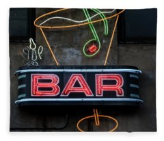 Bar Sign Fleece Blanket