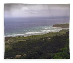 Barbados View Fleece Blanket
