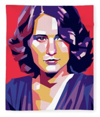 Barbara Stanwyck Fleece Blanket