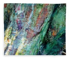 Bark L'verde  Fleece Blanket