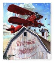 Barn Stormer - Customizeable Fleece Blanket