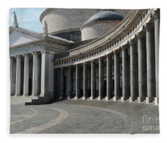Basilica San Francesco Di Paola Fleece Blanket