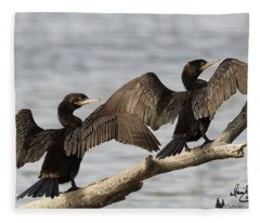 Basking In The Winter Sun Fleece Blanket