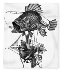 Bass Airship Fleece Blanket