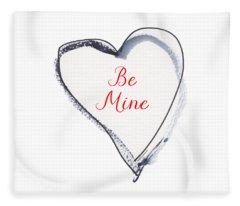 Be Mine Fleece Blanket