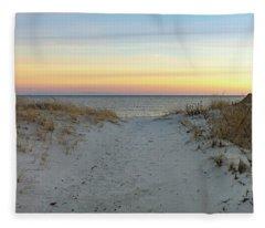 Beach Break Fleece Blanket