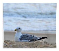 Beach Bum Fleece Blanket