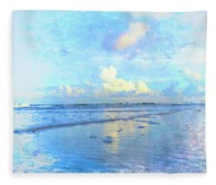 Beach Day Fleece Blanket