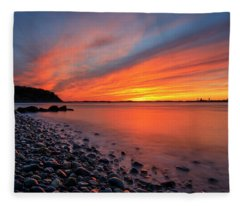 Beach Fury Fleece Blanket