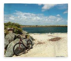 Beach Ride Fleece Blanket