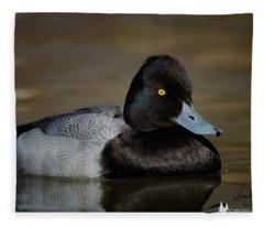 Beautiful Blue Bill Fleece Blanket