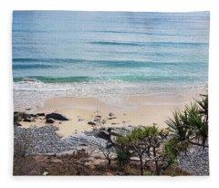 Beautiful Noosa Beach  Fleece Blanket