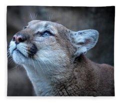Beautiful Puma Fleece Blanket