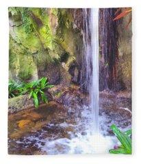 Beautiful Waterfall Fleece Blanket