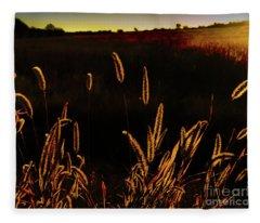 Beauty In Weeds Fleece Blanket