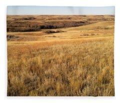Beauty On The High Plains Fleece Blanket