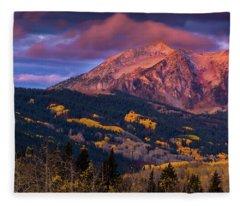 Beckwith At Sunrise Fleece Blanket