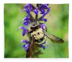 Bee Free Fleece Blanket