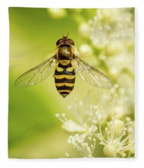 Bee Up Fleece Blanket