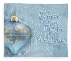 Believe In The Magic - Hope Valley Art Fleece Blanket