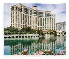 Bellagio Las Vegas 1 Fleece Blanket