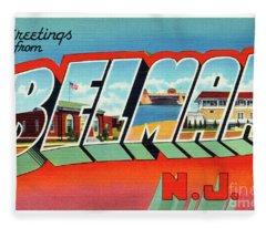 Belmar Greetings Fleece Blanket