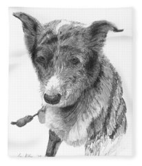 Beloved Pet Dog Fleece Blanket