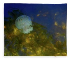 Below The Surface Fleece Blanket
