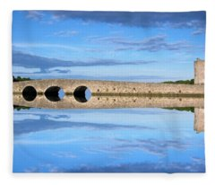 Belvelly Castle Reflection Fleece Blanket