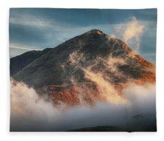 Ben Lomond Misty Sunset Fleece Blanket