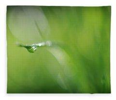 Beneath Fleece Blanket