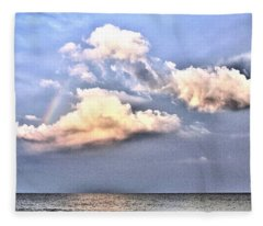Between Clouds Fleece Blanket