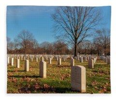 Beverly National Cemetery Fleece Blanket