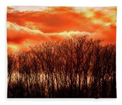 Bhrp Sunset Fleece Blanket