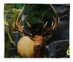 Big Buck 81619 Fleece Blanket