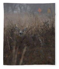 Big Buck Fleece Blanket